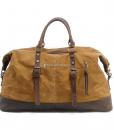 Waterproof Duffel Bag Waxed Canvas Luggage (16)