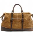 Waterproof Duffel Bag Waxed Canvas Luggage (2)