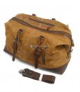 Waterproof Duffel Bag Waxed Canvas Luggage (3)