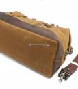 Waterproof Duffel Bag Waxed Canvas Luggage (5)