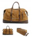 Waterproof Duffel Bag Waxed Canvas Luggage (6)