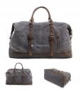 Waterproof Duffel Bag Waxed Canvas Luggage (7)