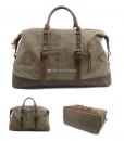 Waterproof Duffel Bag Waxed Canvas Luggage (8)