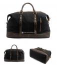 Waterproof Duffel Bag Waxed Canvas Luggage (9)
