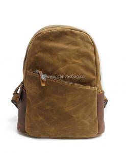 Waxed Backpack Waxed Rucksack (1)