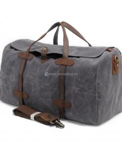 Waxed Canvas Duffle Bag Waxed Canvas Weekend Bag (1)