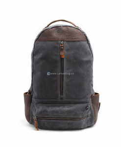 Waxed Canvas Laptop Backpack (1)