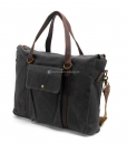 Waxed Canvas Laptop Bag (3)