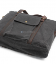 Waxed Canvas Laptop Bag (5)