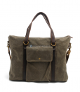 Waxed Canvas Laptop Bag (7)