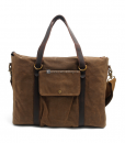 Waxed Canvas Laptop Bag (9)