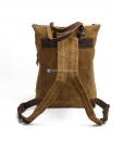 Waxed Cotton Backpack Waxed Canvas Rucksack (12)