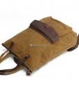 Waxed Cotton Backpack Waxed Canvas Rucksack (13)