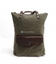 Waxed Cotton Backpack Waxed Canvas Rucksack (2)