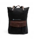 Waxed Cotton Backpack Waxed Canvas Rucksack (4)