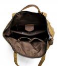 Waxed Cotton Backpack Waxed Canvas Rucksack (6)