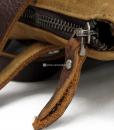 Waxed Cotton Backpack Waxed Canvas Rucksack (7)