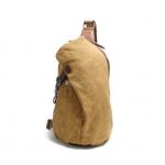 Canvas Sling Backpack Waxed Canvas Handbags (10)