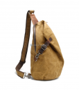 Canvas Sling Backpack Waxed Canvas Handbags (11)