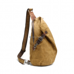 Canvas Sling Backpack Waxed Canvas Handbags (11)