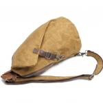 Canvas Sling Backpack Waxed Canvas Handbags (13)