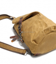 Canvas Sling Backpack Waxed Canvas Handbags (14)