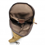 Canvas Sling Backpack Waxed Canvas Handbags (6)