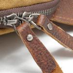 Canvas Sling Backpack Waxed Canvas Handbags (8)