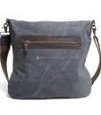 Waxed Canvas Crossbody Bag (2)
