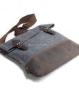 Waxed Canvas Crossbody Bag (4)