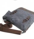 Waxed Canvas Crossbody Bag (5)