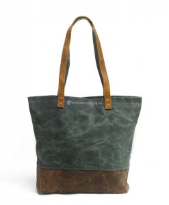 Waxed Canvas Tote Bag (1)