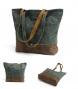 Waxed Canvas Tote Bag (5)