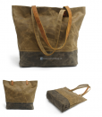 Waxed Canvas Tote Bag (6)