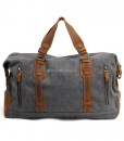 Waxed Canvas Weekend Bag (2)