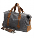 Waxed Canvas Weekend Bag (3)