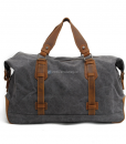 Waxed Canvas Weekend Bag (5)