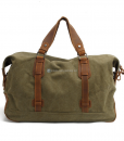 Waxed Canvas Weekend Bag (6)