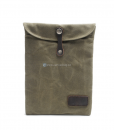Waxed Canvas iPad Bag (2)