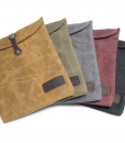 Waxed Canvas iPad Bag (6)