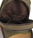 One Strap Backpack Canvas Sling Backpack (9)