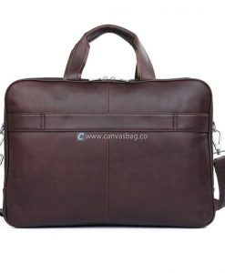 Mens Leather Travel Bag Overnight Canvas Canvasbag Co