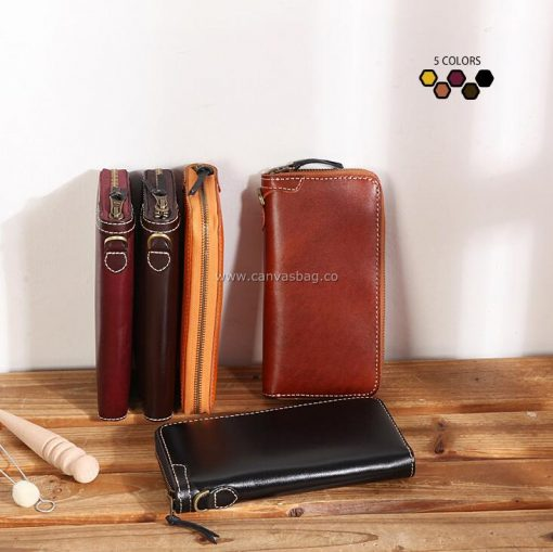 mens handmade leather wallets