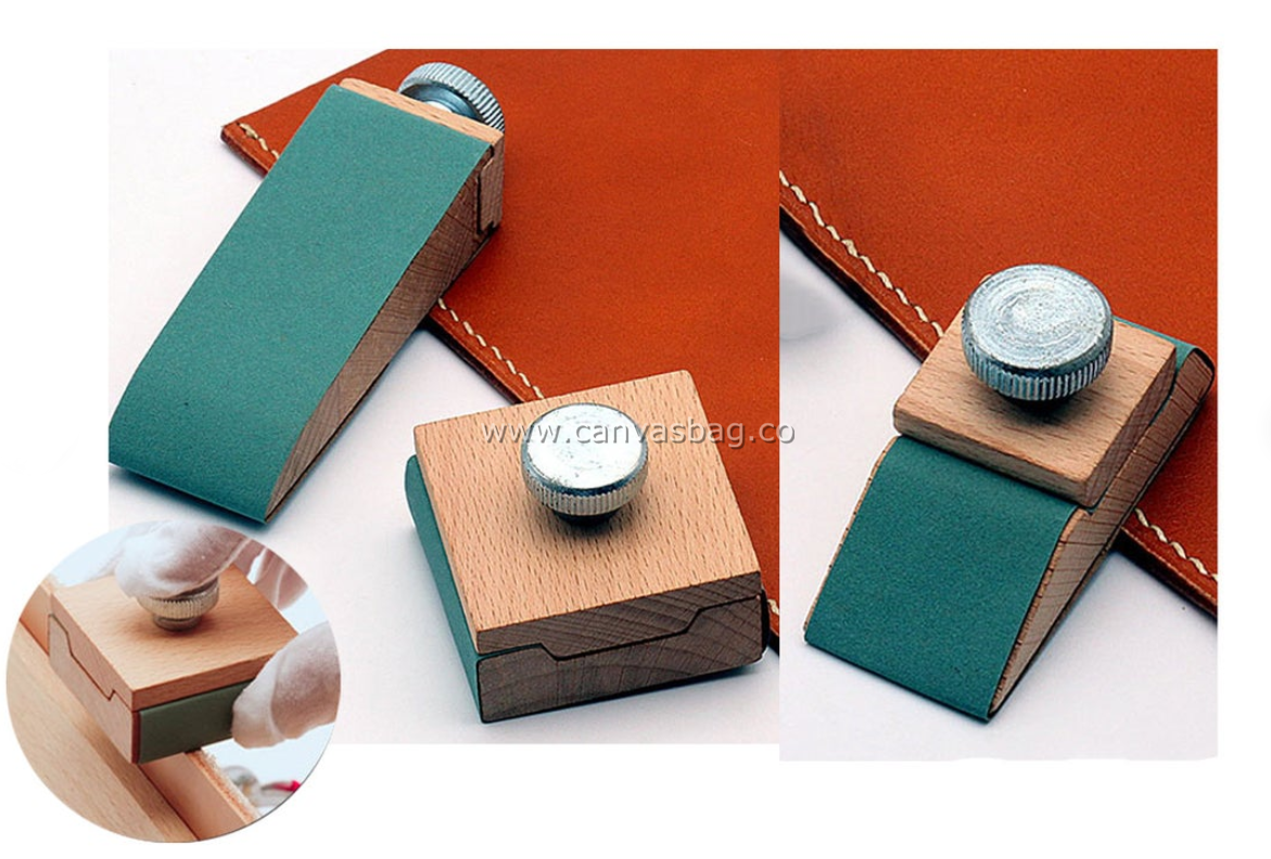 Leather Burnisher Sandpaper Holder