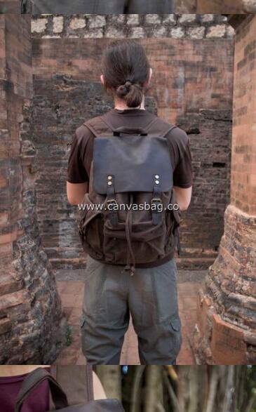 Men's Canvas Backpack