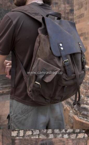 50 Most Hottest Men's Canvas Backpack to Follow These Days
