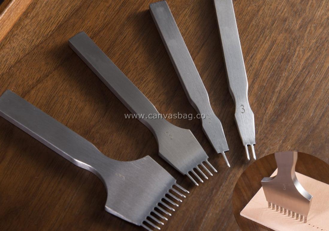 Leather Craft Diamond Pricking Iron Set