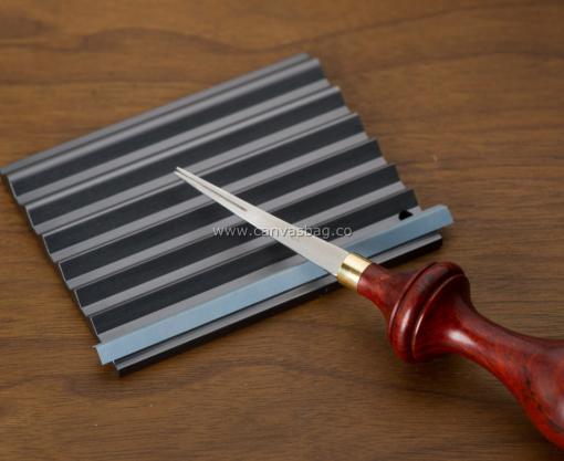 Leather Edge Beveler Sharpening Tool