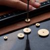Stitching Wheel Leather Circular Margins