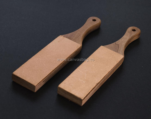 Double-Sided Leather Strip Polishing Tool